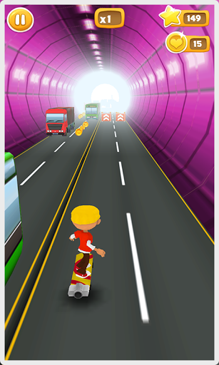 Crazy Kid Skater для планшетов на Android