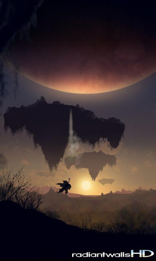 "Живые обои ""RadiantWalls HD - PlanetScapes"" на Андроид"