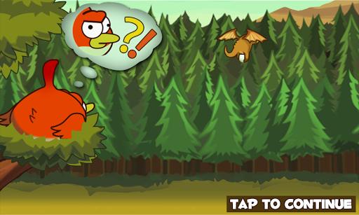 Игра Clumsy Bird для планшетов на Android
