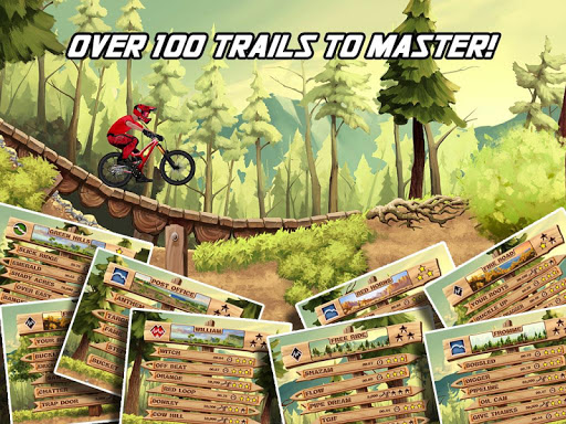 Игра Bike Mayhem Mountain Racing для планшетов на Android