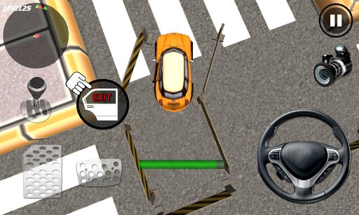 Игра Crazy Cartoon Parking King 3D для планшетов на Android