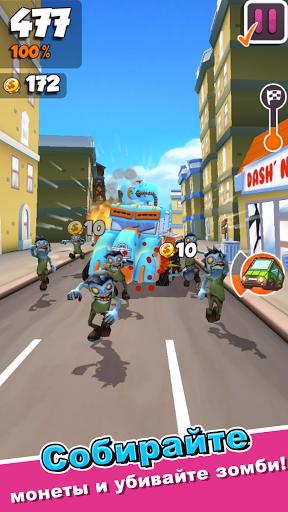 Undead City Run скачать на планшет Андроид