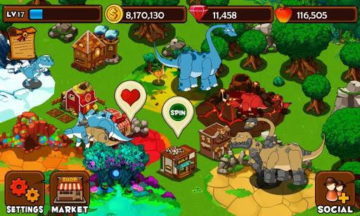 Dino Island на Андроид