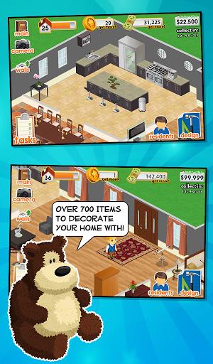 Игра Design This Home для планшетов на Android