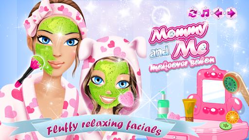 Игра Мама и я макияж салон на Андроид