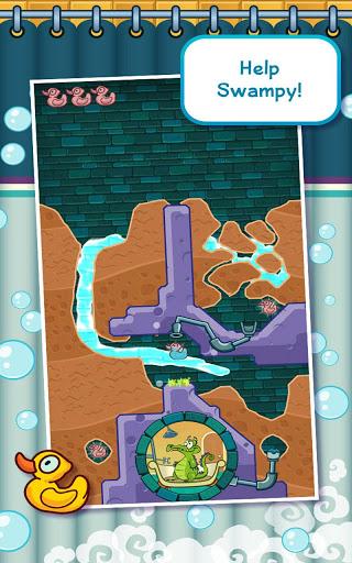 Игра Крокодильчик Свомпи для планшетов на Android