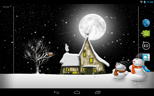 Winter Night Pro на Андроид