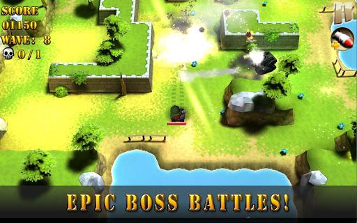 "Игра ""Tank Riders"" для планшетов на Android"