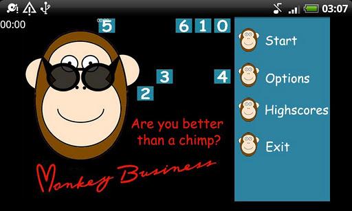 Monkey Business, a memory game скачать на планшет Андроид