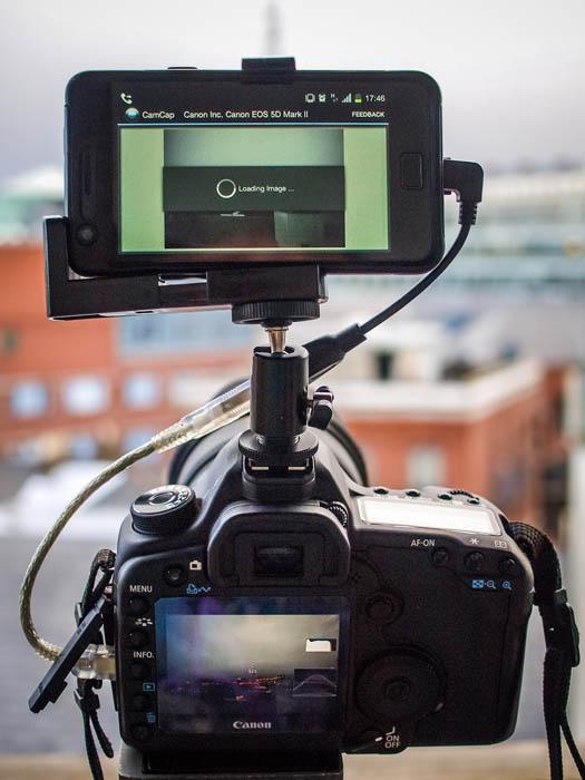 Подключение фотоаппарата к планшету