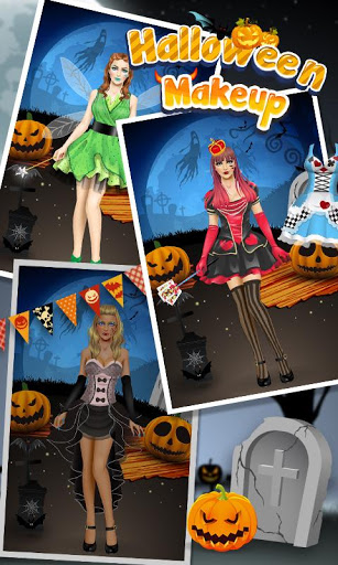 Halloween Makeup SPA для планшетов на Android