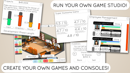 Game Studio Tycoon 2 скачать на Андроид