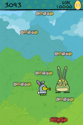 Игра Doodle Jump Easter Special для планшетов на Android