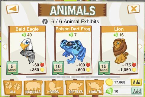 "Игра ""Tap Zoo"" на Андроид"
