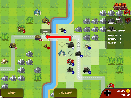 Игра Front Wars для планшетов на Android
