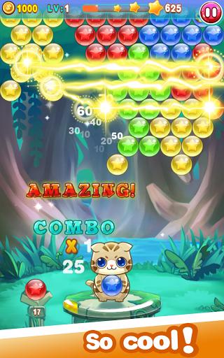 Игра Bubble Cat Rescue 2 на Андроид