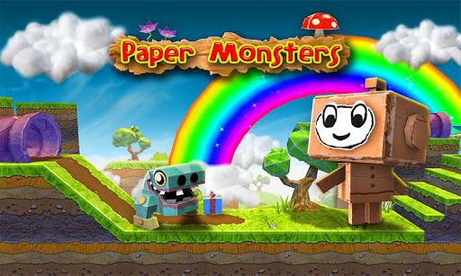 """Игра """"Paper Monsters"""" на Андроид"""