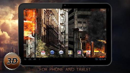 "Живые обои ""Apocalypse Pro 3D"" для планшетов на Android"