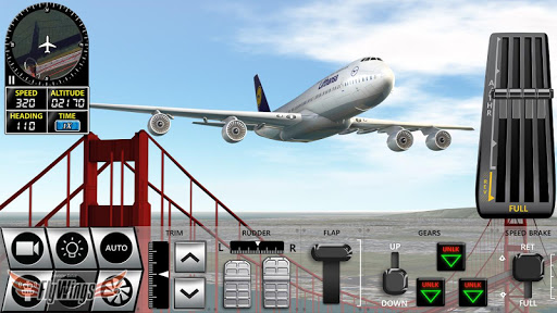 Flight Simulator 2016 HD скачать на планшет Андроид