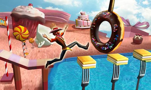 Веселая пробежка 3D скачать на планшет Андроид