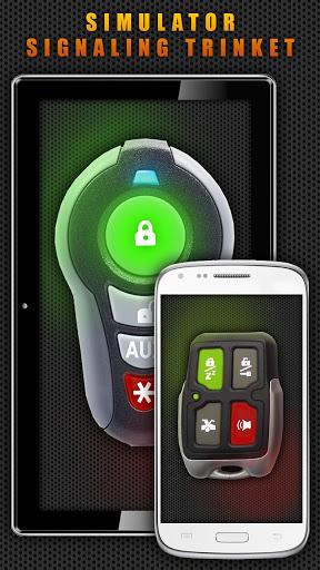 Игра Симулятор Сигнализация Брелок для планшетов на Android