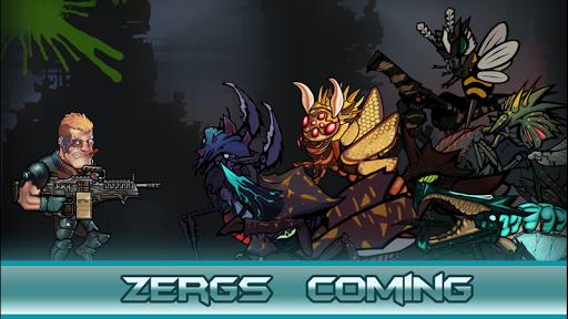 Zergs Hunter Free для планшетов на Android