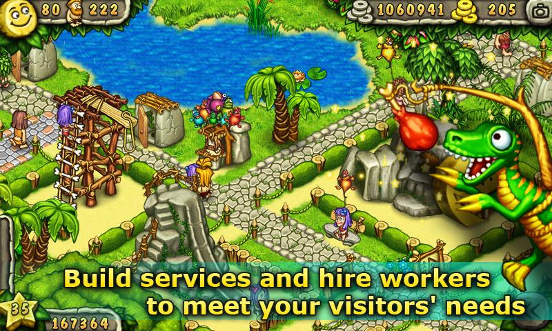 Игра Первобытный парк на Андроид