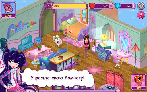 Игра Винкс Школа Волшебниц на Андроид