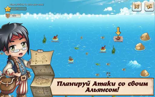 Игра Pirates of Everseas для планшетов на Android