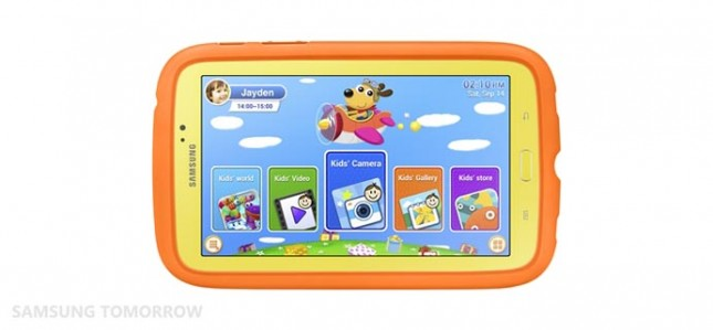 Samsung выпустит Galaxy Tab 3 Kids - планшет для детей