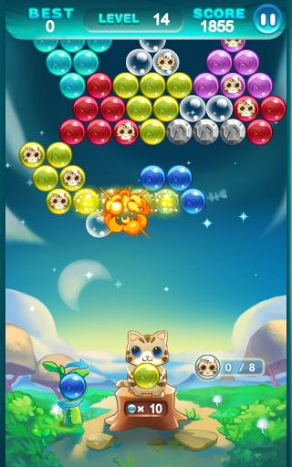 Игра Bubble Cat Rescue для планшетов на Android