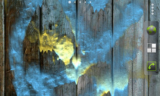 "Живые обои ""Dynamic Paint Live Wallpaper"" для планшетов на Android"
