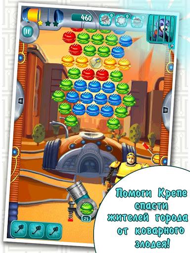 Игра Burger Bombs для планшетов на Android