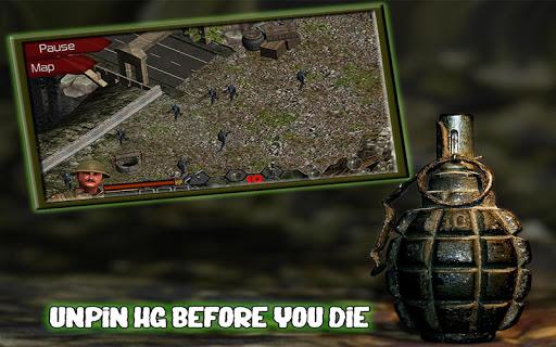Commando: действие - война на Андроид