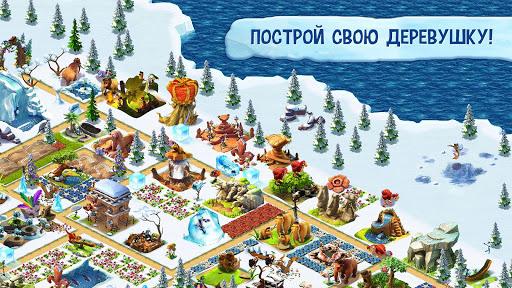 Ice Age Village - Ледниковый период скачать на планшет Андроид