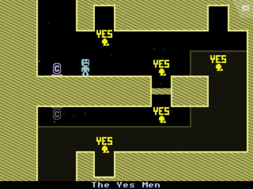 Игра VVVVVV на Андроид