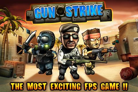"Игра ""Gun Strike"" на Андроид"