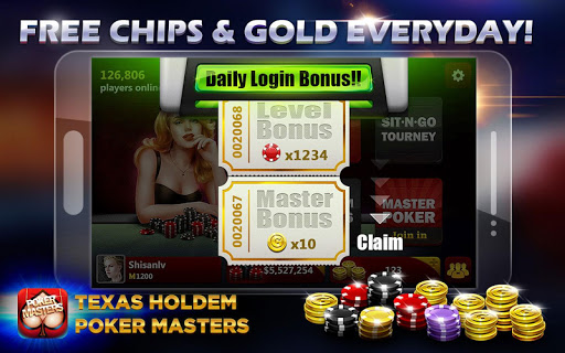 Игра Texas Holdem: Poker Masters для планшетов на Android