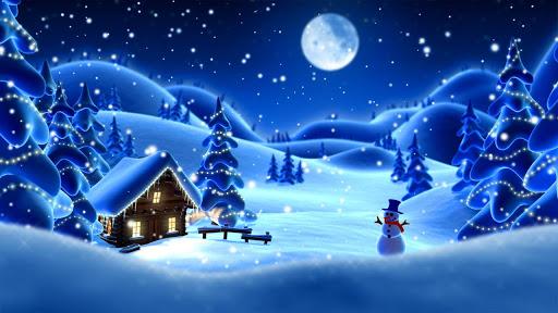 "Живые обои ""Winter Snow Cartoon LWP PRO"" на Андроид"