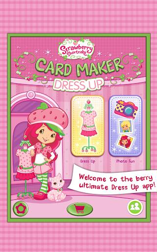 Игра Клубничка: создай открытку для планшетов на Android