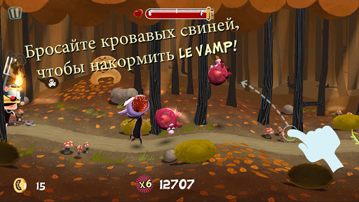 Игра Le Vamp на Андроид