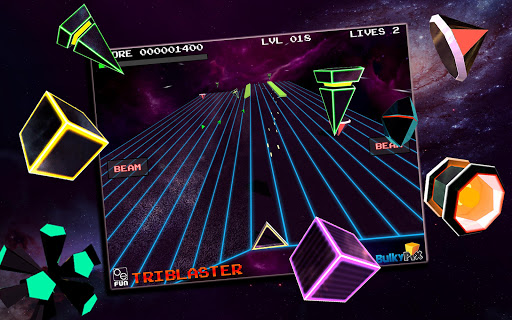 Игра TriBlaster для планшетов на Android