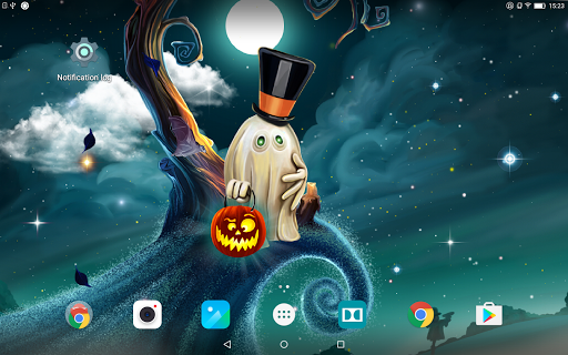 HD Хэллоуин Живые Обои скачать на планшет Андроид
