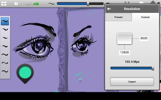 """Приложение для рисования """"SketchBook Ink"""" на Андроид"""
