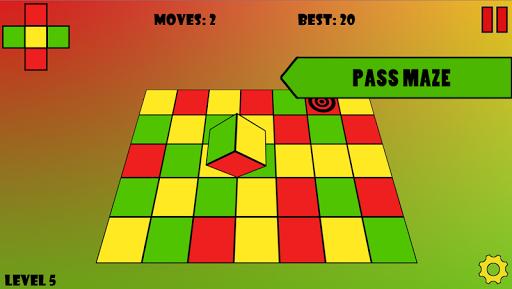 Color Cube Maze 3D на Андроид