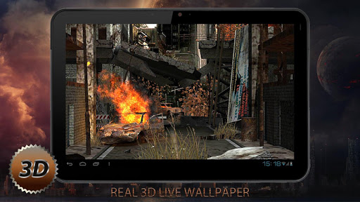 """Живые обои """"Apocalypse Pro 3D"""" на Андроид"""