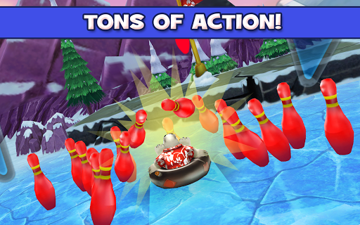 Игра Polar Bowler для планшетов на Android