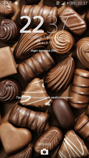 Тема eXPERIAnZ - Шоколад на Андроид