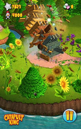 """Игра """"Catapult King"""" для планшетов на Android"""