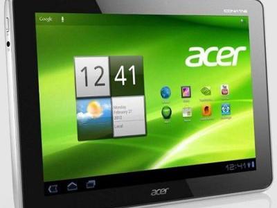 Подтвержден выход планшетов Acer A510 и A700